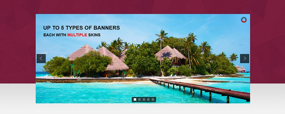 Banner Rotator - Website Boxed Size - Classic Skin