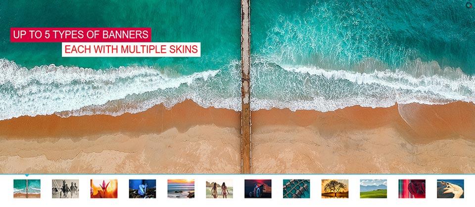 Website Boxed Size - Thumbnails Slider - Simple Skin
