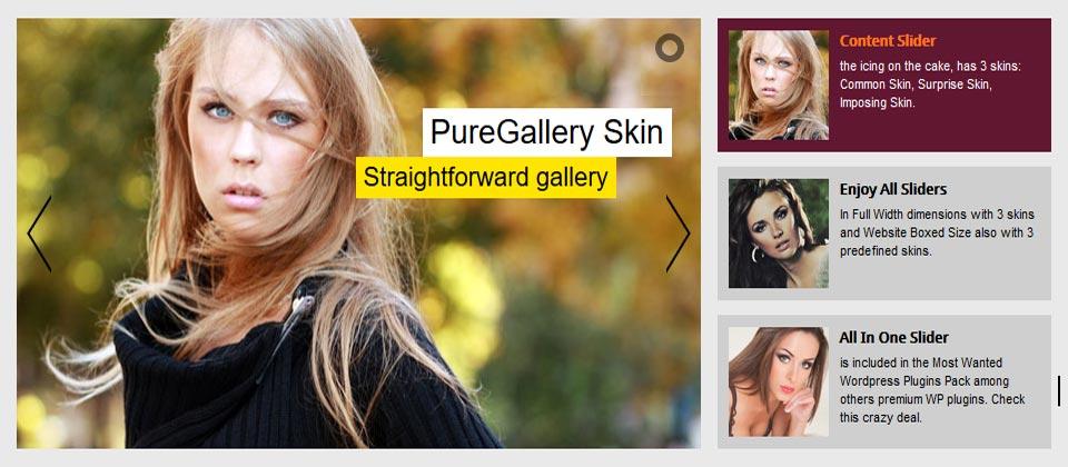 Full Width - Playlist Slider - Elegant Skin