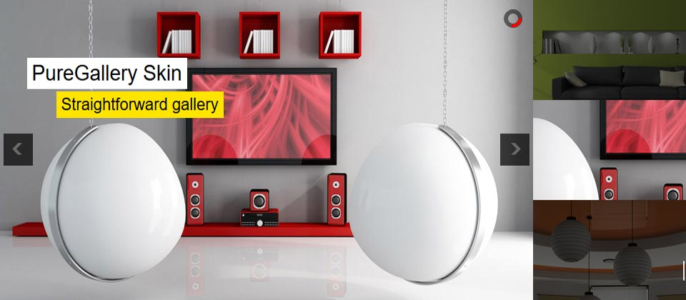 Website Boxed Size - Playlist Slider - Pure Gallery