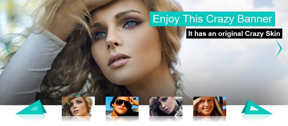 Website Boxed Size - Thumbnails Banner - Crazy Skin