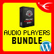 HTML5 Audio Players WP Bundle