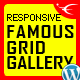 Famous - Responsive Image And Video Grid Gallery WP Plugin